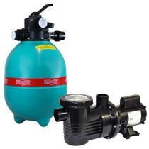 Filtro para Piscina DFR 19-7 com Bomba 3/4 CV Monofásica DANCOR -