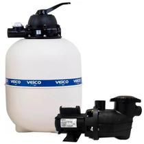 Filtro para Piscina V-70 até 112.000 Litros com bomba 1.1/2 CV c/ Pré-Filtro MVPF150 FLUIDRA -