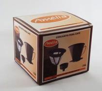 Filtro Permanente  para café  3 peças Amélia - Melida