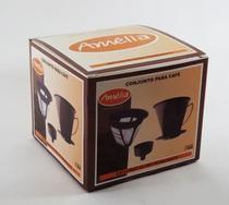 Filtro Permanente  para café  3 peças Amélia -
