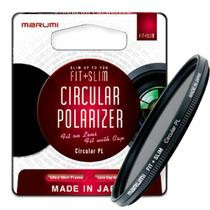 Filtro Polarizador Marumi Fit+Slim 58mm -