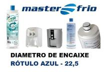 Filtro Refil Masterfrio Purificador Rotulo Azul Encaixe 22,5 - Policarbon