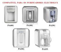Filtro Refil para Purificador Electrolux PAPPCA10 Original Kit 3 Peças -