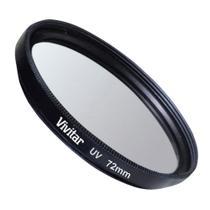 Filtro ultravioleta (UV) para lentes com diâmetro de 72 mm - Vivitar