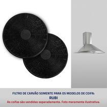 Filtros de carvão ativado para Coifa Rubi - Suggar