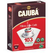 Filtros de Papel 103 Cx/30 Cajubá - Lavável e Reutilizável 5X - Icatril