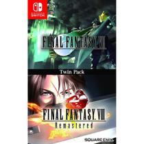 Final Fantasy VII (7) & VIII (8) Remastered - Switch - Nintendo