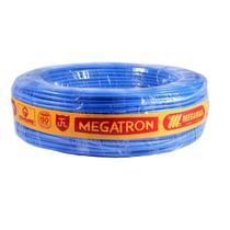 Fio Cabinho Flexível Azul Megatron 10,0 mm Rolo com 100 metros -