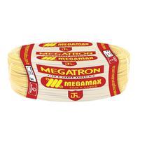 Fio Cabinho Flexível  Megatron 1,0 mm Rolo com 100 m Amarelo -