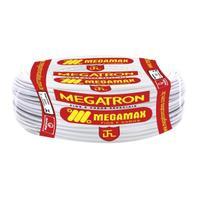 Fio Cabinho Flexível  Megatron 1,5 mm Rolo com 100 m Branco -