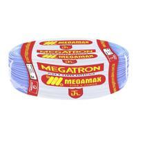 Fio Cabinho Flexível  Megatron 2,5 mm Rolo com 100 m Azul -