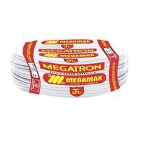Fio Cabinho Flexível  Megatron 4,0 mm Rolo com 100 m Branco -