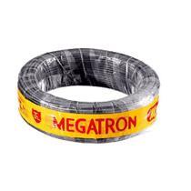 Fio Cabinho Flexível  Megatron 4,0 mm Rolo com 100 m Preto -