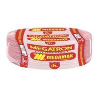 Fio Cabinho Flexível  Megatron 6,0 mm Rolo com 100 m Vermelho -