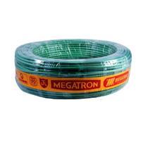 Fio Cabinho Flexível Verde Megatron 16,0 mm Rolo com 100 metros -