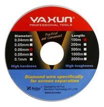 Fio De Aço Yaxun 0.04mm 100m Para Separar Tela Lcd -
