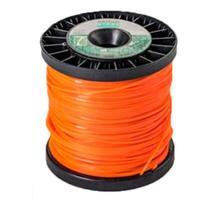 Fio de Nylon para cortar grama quadrado 3,0mm p/ roçadeira 1kg com 116m - Ekilon -