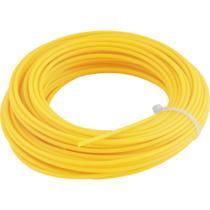 Fio de nylon para roçadeira e aparador de grama 3,0 mm x 10 m - Vonder -