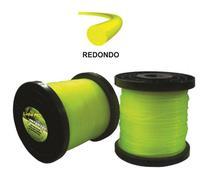 Fio De Nylon Redondo 1,8mm Profissional Para Roçadeira 1kg - Itecê