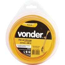 Fio de nylon redondo 2,0 mm x 100 metros - Vonder -