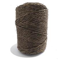 Fio de Sisal 2,5mm, Tingido, aprox. 80m - Cor Niri - Sisalsul