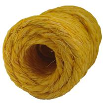 Fio de Sisal 700/2 Amarelo 75 metros 250gr artesanato uso geral Apaeb -