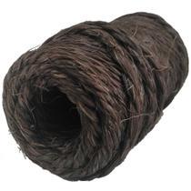 Fio de Sisal 700/2 Chocolate 75 metros 250gr artesanato uso geral Apaeb -