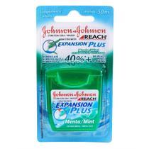 Fio Dental J&J Reach Expansion Plus Menta 50m -