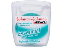 Fio Dental Johnson & Johnson Reach - Essencial Menta 100m