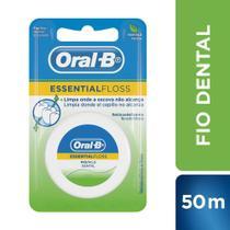 Fio Dental Oral-B Essential Floss Encerado Menta 50m - Oral B