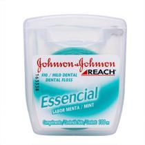 Fio Dental REACH Johnson's Essencial 100m - Caixa c/16 -