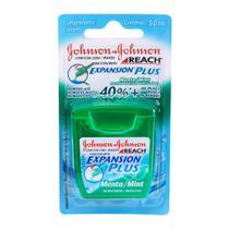Fio Dental REACH JOHNSON'S Expansion Plus Menta 50m - Caixa c/24 -