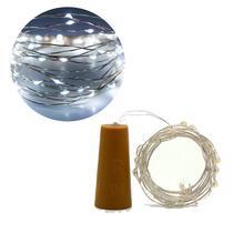 Fio Fada Cobre Cordão Luz Branco Frio 2m 20 Leds Bateria - Inter.P