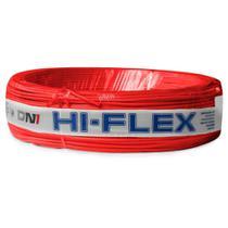 Fio Flexível para Instalação Automotiva Dni Hi-Flex 2,50 mm 100 Metros Vermelho -