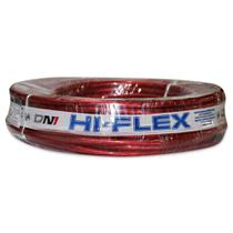 Fio Flexível para Sonorização Profissional de Alta Potência Dni Hi-Flex 16 mm 25 Metros Cristal Vermelho -