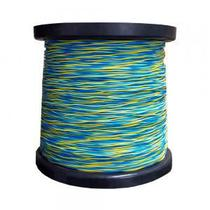 Fio Jumper 2x0,5mm rolo com 500 metros (Azul/Amarelo) - Coopersalto