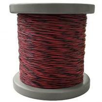 Fio Jumper 2x0,5mm rolo com 500 metros (Vermelho/Preto) - Coopersalto