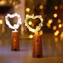 Fio Luz Led De Fada String Light 20 Leds 2m Rolha Decoração - Vil