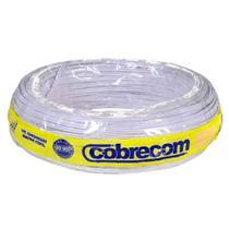 Fio paralelo 2x1,5mm 300V 100m branco Cobrecom -