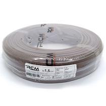Fio Paralelo Flexivel 1,50mm Marrom Com 100 Metros 0004NBC RCM -