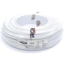 Fio Paralelo Flexivel 2,50mm Branco Com 100 Metros 0004NBC RCM -
