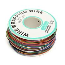 Fio Wire Wrap 120M 30AWG - 8 Cores - Eletrogate