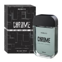 Fiorucci Chrome Black Deo Colônia Masculina 100mL -
