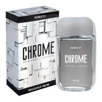 Fiorucci Chrome Deo Colônia Masculina 100mL -