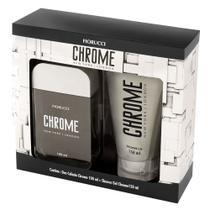 Fiorucci Chrome Kit - Deo Colônia + Gel de Banho -
