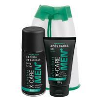 Fiorucci kit x-care men fresh espuma + pos barba -