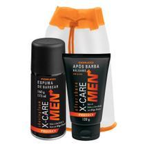 Fiorucci kit x-care men protect espuma + pos barba -