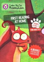 First Reading At Home - Collins Big Cat Reading Lions - Level 1 - Box Set With 6 Books -