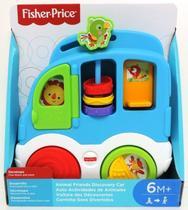 Fisher Price Carro dos animais Sons Divertidos CMV95/CMV93 - Mattel -
