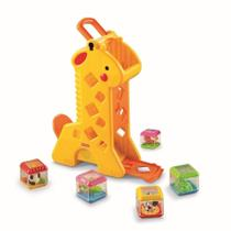 Fisher Price Girafa Com Blocos - B4253 - Mattel